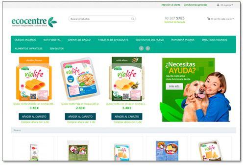 tienda virtual alimentos ecológicos
