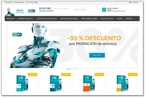 Antivirus NOD32 España